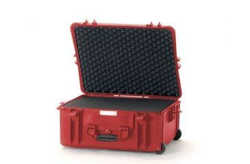 HPRC Wheeled Hard Case 2700W w/ Foam HPRC2700WFRed