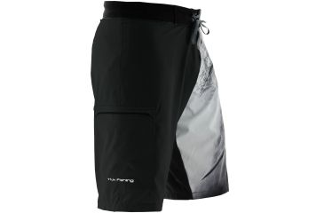 Huk performance fishing kscott northdrop board short w for Huk fishing shorts