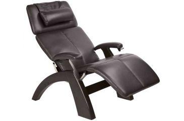 Human Touch Perfect Chair - Dark Walnut base, Espresso Chair Pads