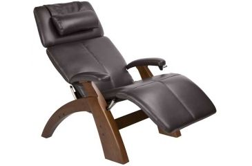 Human Touch Perfect Chair 006 - Walnut base, Espresso Chair Pads