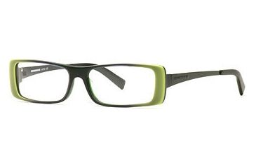 HUMMER Eyegear HU H2010 SEHU 201000 Bifocal Prescription Eyeglasses - Leaf SEHU 2010005545 GN