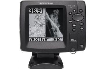 "Humminbird 581i HD DI Combo Marine GPS Navigator, 5"", Grayscale, Sonar Detector 4089901"