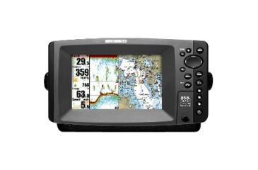 "Humminbird 858c Marine GPS Navigator, 7"", 65536 Colors 4078101"