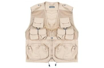 Combat Vest - Khaki, Large