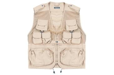 Combat Vest - Khaki, Medium