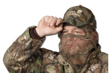 Hunter's Specialties Flex Form II Nylon Mesh 3/4 Face Mask Realtree AP Camouflage One Size Fits Most 05410