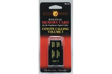 Hunter's Specialties Johnny Stewart Memory Card Coyote 5 MC-CY5