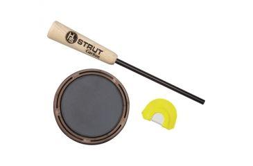 Hunter's Specialties Raspy Old Hen Slate With Carbon Striker Includes Premium Flex Raspy Old Hen Diaphragm Call