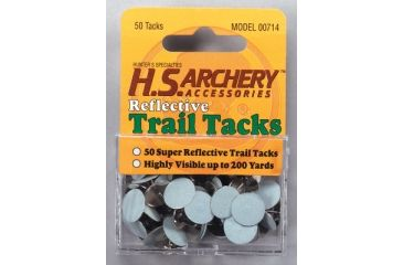 Hunter's Specialties Reflective Trail Tacks 50 Per Pack 00714