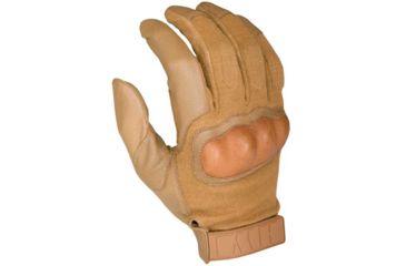 HWI Hard Knuckle Tactical Glove, Coyote Tan, Medium HWHKTG300-M