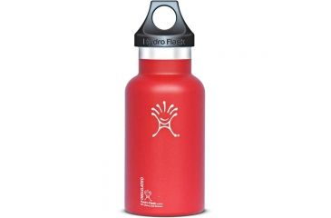 Hydro Flask 12oz Lychee Red Std Mouth S12615