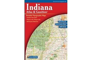 Indiana Atlas, Publisher - Delorme