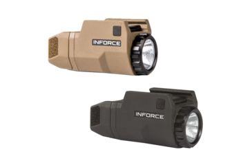 133628d0500 INFORCE 200 Lumen APLc Glock Compact Weapon Light