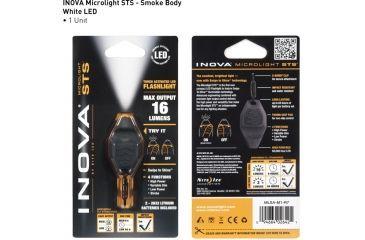 Inova Microlight Swipe To Shine Key Light - Smoke/Black MLSA-M1-R7