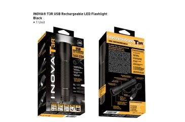 Inova T3R Flashlight - USB Rechargeable T3RTMA-HB