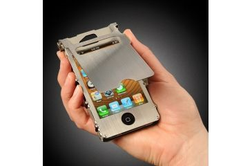 iNoxCase iPhone Case - Stainless Steel INOX4S