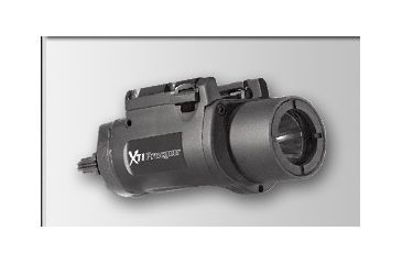 1-Insight Technologies XTI Procyon, Rail-Mounted LED Black Weapon Flashlight LT3-LKDUP-0B01