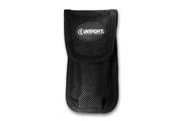 Insight Technology Flashlight Holster HX120, Single Pouch, Nylon Black