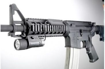 EOTech M-3X Longgun Tactical Illuminator Mounted on M16