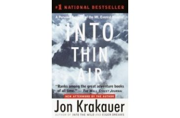Into Thin Air, Paperback, Jon Krakauer, Publisher - Random House