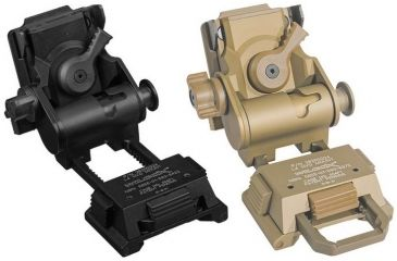 1-Trijicon Electro Optics Wilcox G24 Helmet Mount for IR Patrol M-Series