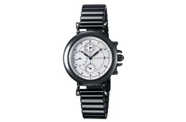 Issey Miyake SILAc009 Insetto Mens Watch - Black Metal Band, Silver Case