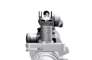 2-JE Machine Tech Match-Grade Fixed/Detachable A2 Rear Iron Sight