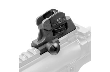 4-JE Machine Tech Match-Grade Fixed/Detachable A2 Rear Iron Sight