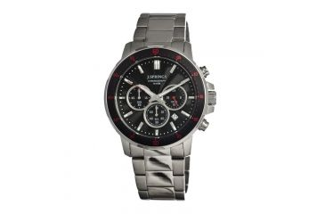 J. Springs Bfc001 Competitive Chronograph Mens Watch, Black JSPBFC001