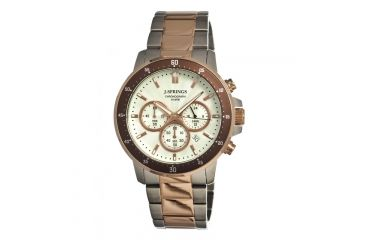 J. Springs Bfc003 Competitive Chronograph Mens Watch, Eggshell JSPBFC003