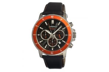J. Springs Bfc005 Competitive Chronograph Mens Watch, Black JSPBFC005