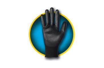 Jackson Safety G40 Polyurethane Coated Glove, Black, Small 13837