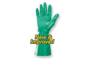Jackson Safety G80 NITRILE Chemical Resistant Gloves, Green, Large 94447