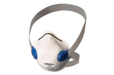 Jackson Safety R10 Dual-Valve N95 Particulate Respirator, White, Universal 64260