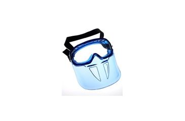 Jackson Safety Revolution Goggle, Blue Frame, Smoke, Universal 14401