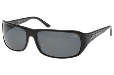 Jaguar 37102 BiFocal Black Frame, Grey Polarized Lenses Mens Sunglasses 37102-6100BF