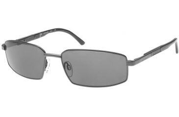 Jaguar 37300 Sunglasses - Gunmetal; Grey Lenses (008)