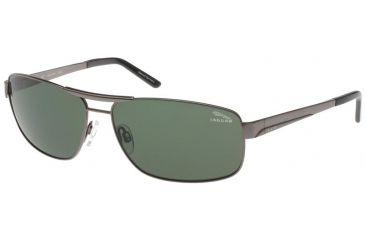 db8426c64b Jaguar 37320 Single Vision Gunmetal Frame,Green Polarized Lenses Mens  Sunglasses 37320-420RX