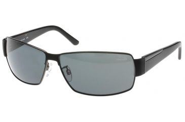 Jaguar 37537 Progressive Gunmetal-Black Frame,Grey Polarized Lenses Mens Sunglasses 37537-610PROG