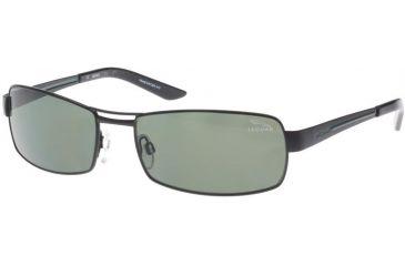 Jaguar 39701 Sunglasses - Black; Green Lenses (610)