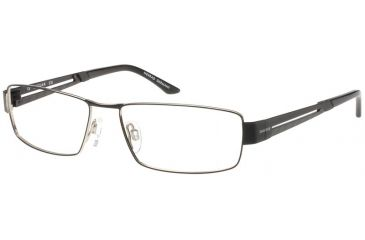 Jaguar Spirit Progressive 33540 Black-Silver Mens Eyeglasses 33540-610PROG