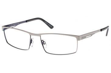 Jaguar Spirit Progressive 39337 Brushed Silver-Navy Mens Eyeglasses 39337-549PROG