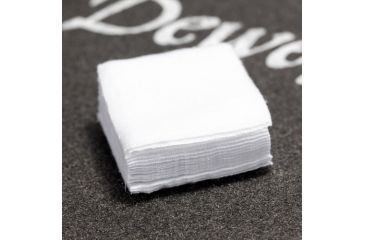 """J. Dewey PS-221 1-3/8"""" Square Patches 100/bag, White, n/a PS221"""