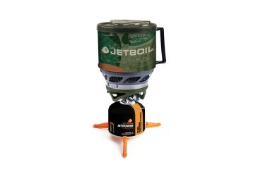 5-Jet Boil MiniMo 6000 BTU/h / 1.75 kW Personal Backpacking Stove Cooking System