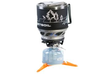 6-Jet Boil MiniMo 6000 BTU/h / 1.75 kW Personal Backpacking Stove Cooking System