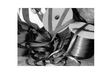 John Howard Company Tubular Webbing, Orange, 1x300 100287