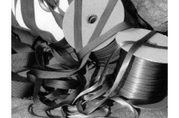 John Howard Company Tubular Webbing, Red, 1x300 100286