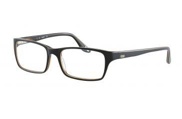 JOOP! 81055 Single Vision Prescription Eyeglasses - Brown Frame and Clear Lens 81055-6172SV
