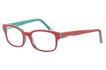 JOOP! 81061 Single Vision Prescription Eyeglasses - Red Frame and Clear Lens 81061-6408SV