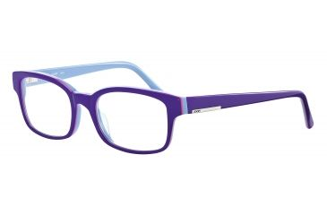 JOOP! 81061 Single Vision Prescription Eyeglasses - Violet Frame and Clear Lens 81061-6407SV